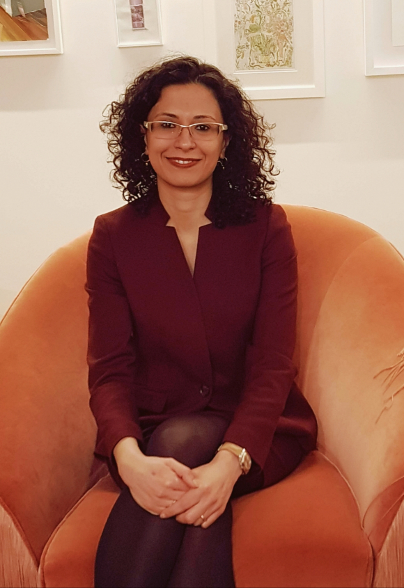 Azadeh Pourzand, Iranian human rights expert.